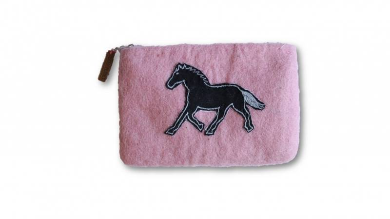 Liten pung med hest